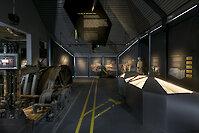 Graphiteum im Besucherbergwerk Graphit Kropfmühl